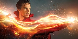 Benedict Cumberbatch In Action As Superhero Doctor Strange