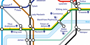 Check Out TfL's Shakespeare Tube Map