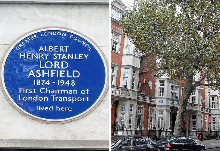 What's Unusual About These Four Blue Plaques?