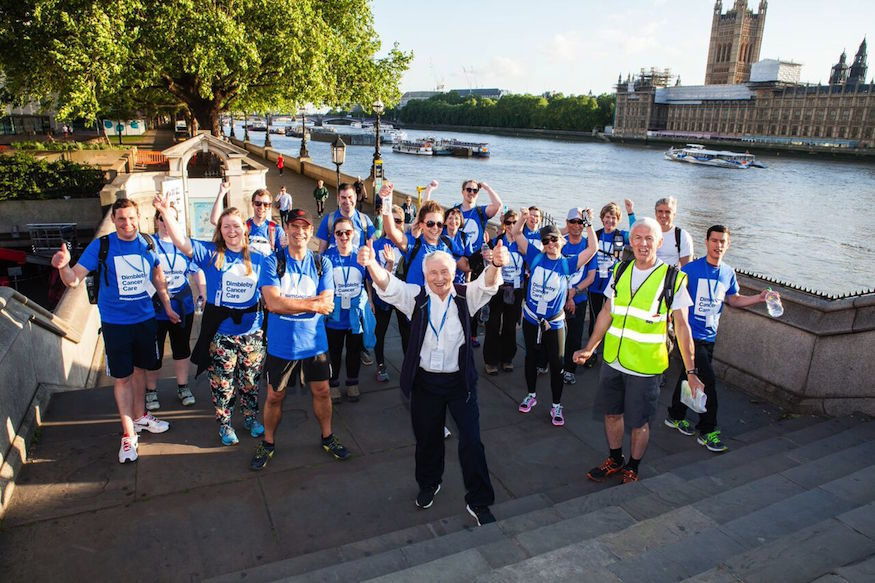 Think You Could Walk 50km Around London In One Night?