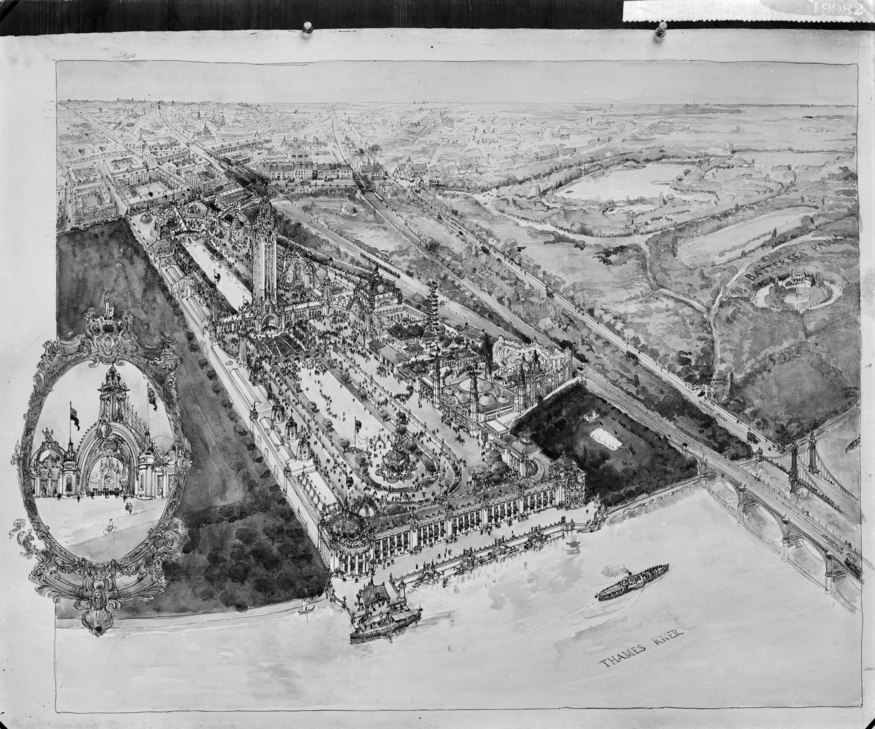 When Battersea Power Station Almost Became An Edwardian Theme Park