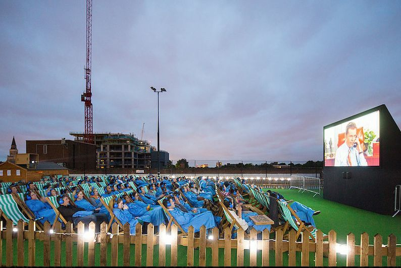 Croydon's Rooftop Cinema Is Back