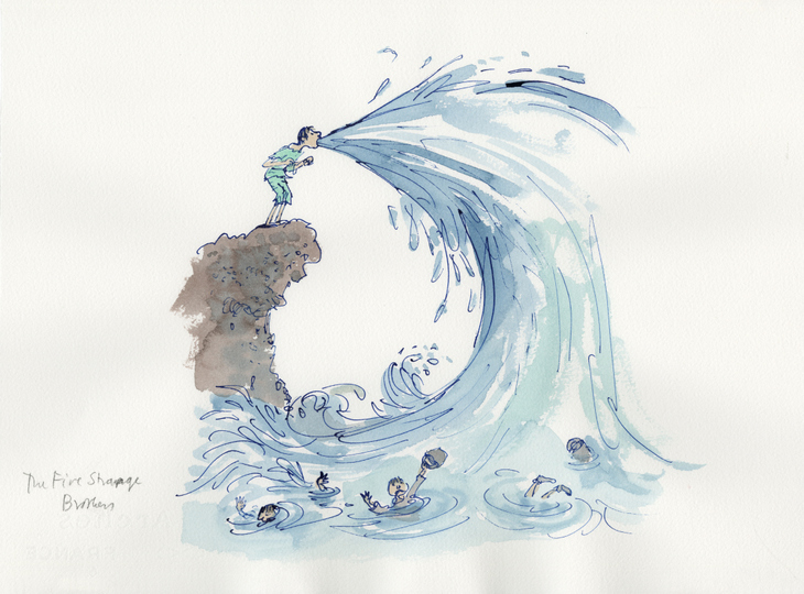 Prepare For Serious Nostalgia At This Quentin Blake Gallery