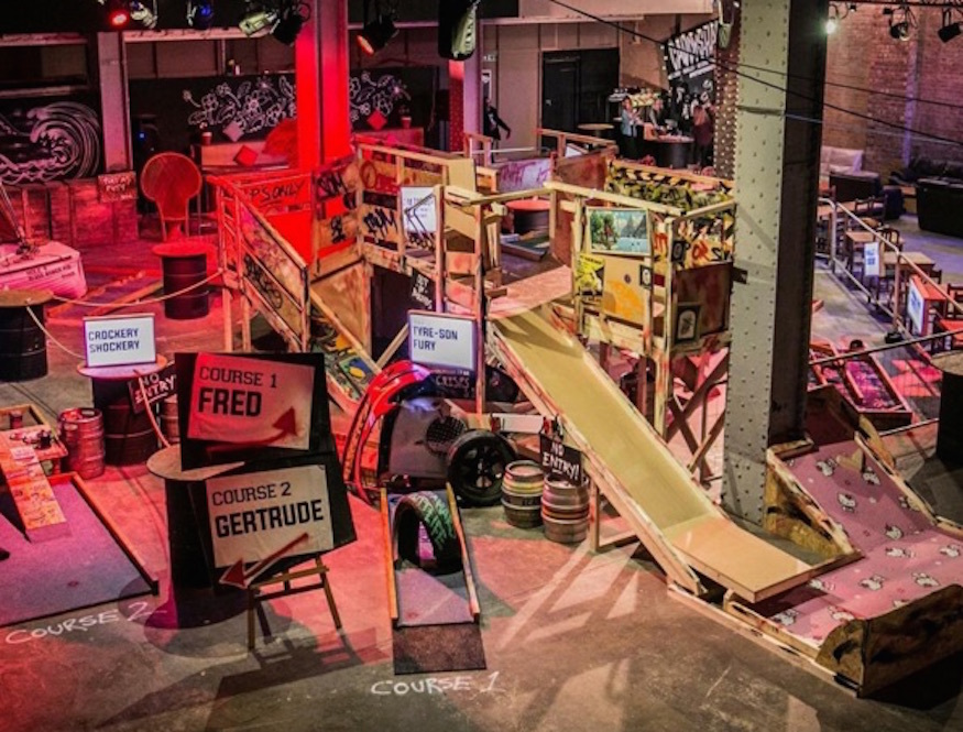 Junkyard Golf Club Comes To London | Londonist: https://londonist.com/2016/04/junkyard-golf-club-comes-to-london