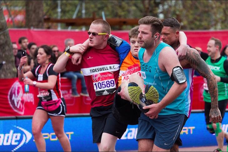 In Photos: The London Marathon 2016