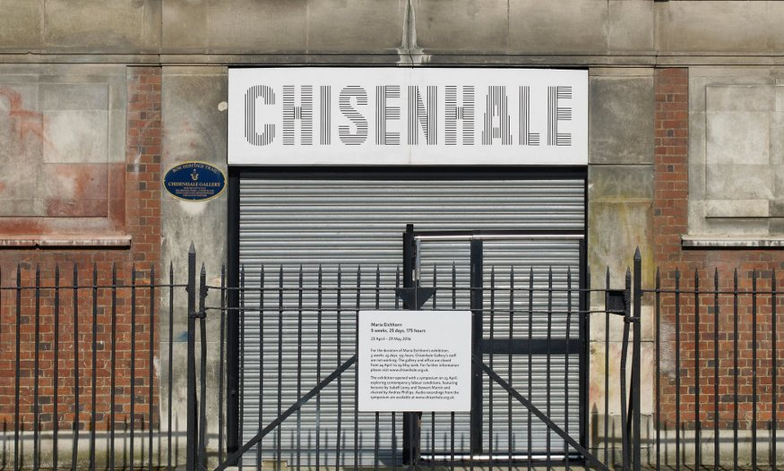 Why Is This Gallery Closed For All 5 Weeks Of Its Exhibition?
