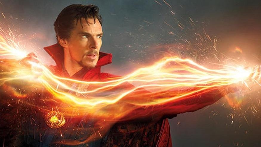Benedict Cumberbatch In Action As Superhero Doctor Strange