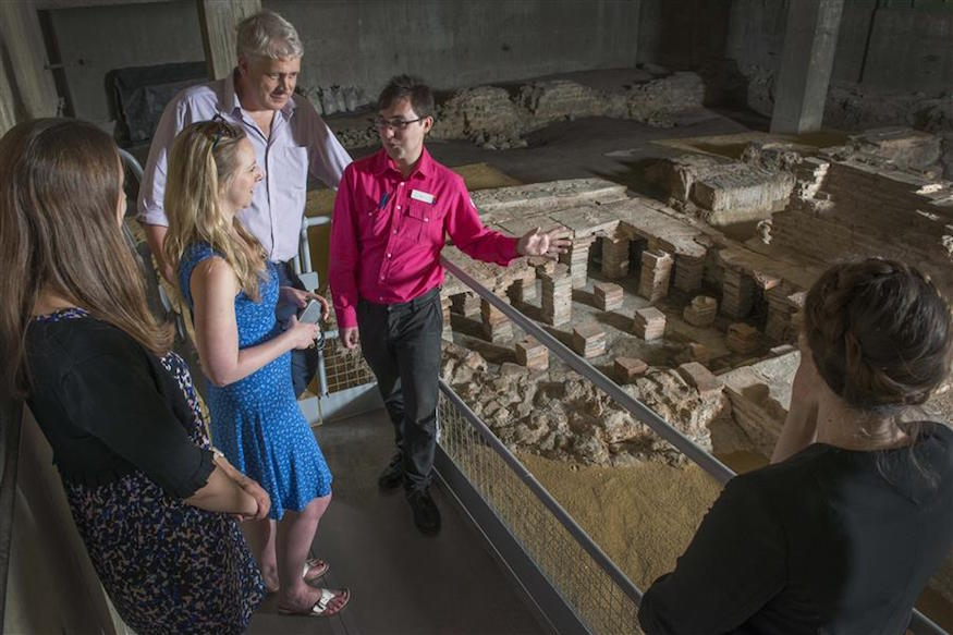 Dip Into Roman London This Weekend With A Tour Of Hidden Ruins