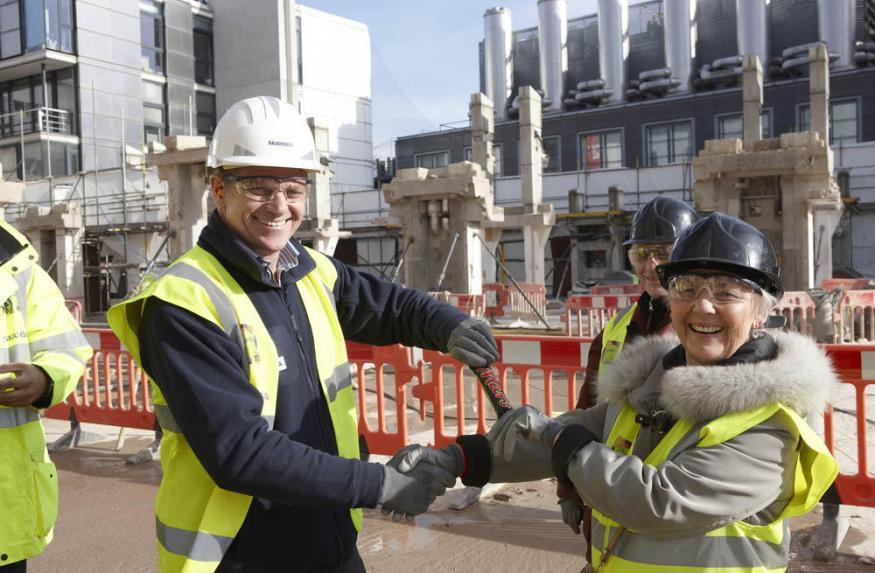 Go Behind The Scenes At A Building Site
