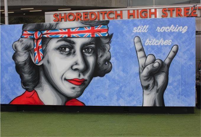 """Queen Elizabeth II Is """"Still Rocking Bitches"""""""