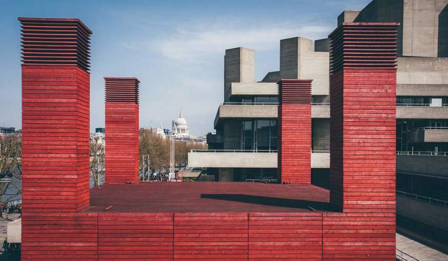 The National Theatre Is Closing Its 'Red Shed'