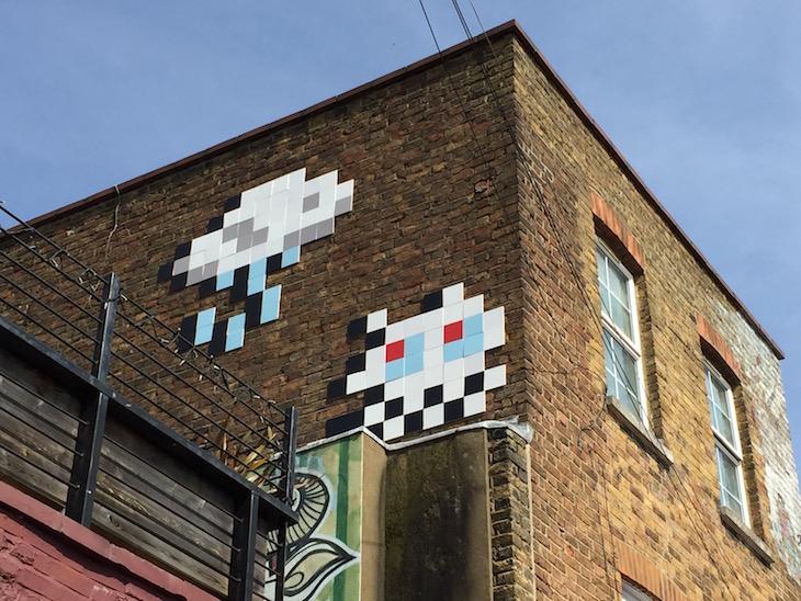 Camden Town street art.