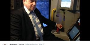 Ghost Of Boris Haunts Mayor Of London Twitter Account