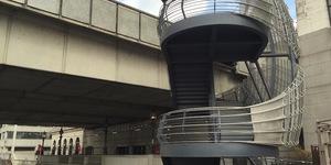 London Bridge Is Building Up, As New Stairway Opens