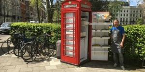 A Telephone Box In Bloomsbury Square Has Been Transformed… Into A Salad Bar