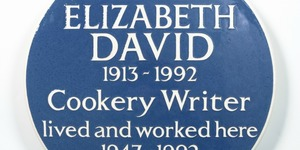 Blue Plaque For Cookery Writer Who Introduced Mediterranean Food To England
