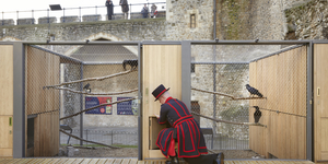 New Home For Tower Of London Ravens Wins Architecture Award