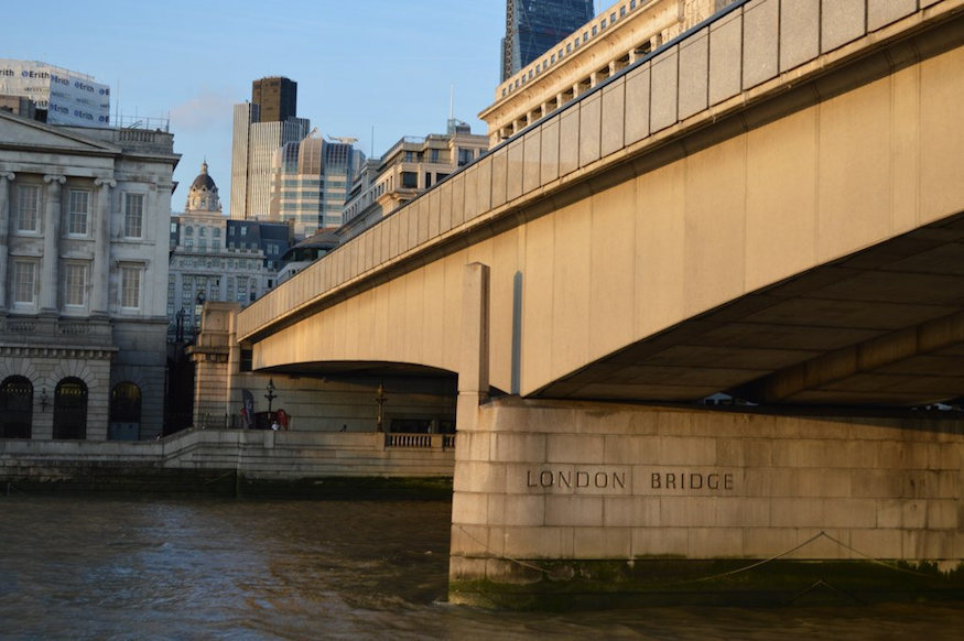 What Does The Spike On London Bridge Represent?