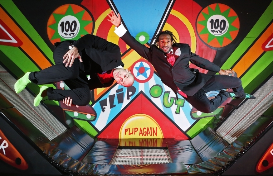 London's Biggest Trampoline Park Opens Today