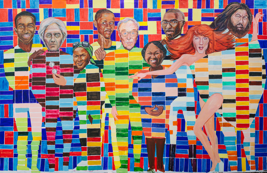 Who Do You Recognise In This New Southwark Mural?