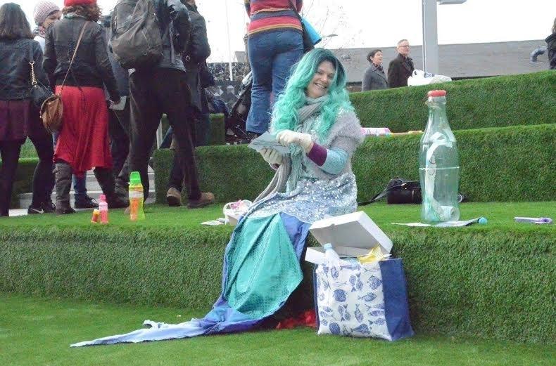 A Mermaid On The Beer Mile: Saturdays In Bermondsey Just Got Strange