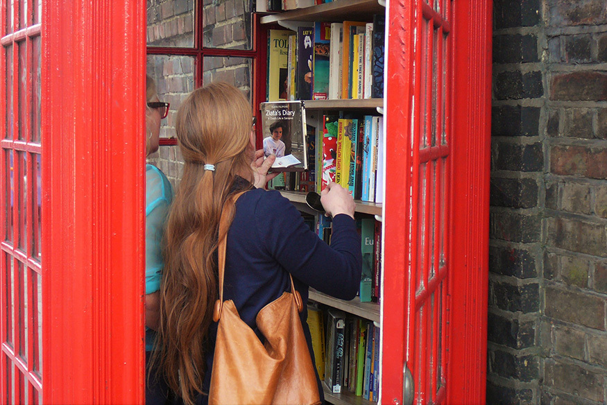 The Story Of London's Smallest Library