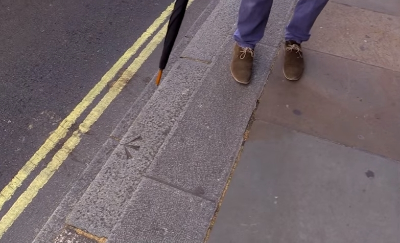 What Does This Strange Kerb Marking Mean