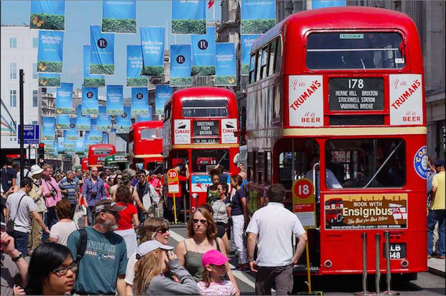 Regent Street To Close For Huge Transport Festival