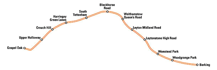 Large Chunk Of Overground To Close From June