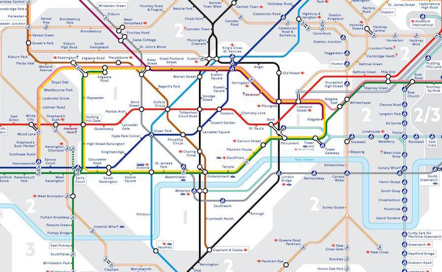 Exclusive: A First Look At The New 2016 Tube Map | Londonist