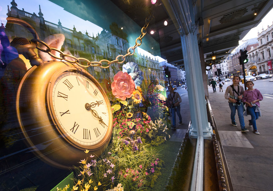 Alice In Wonderland Comes To Fortnum & Mason