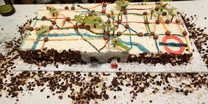 Someone Made London Landmarks Out Of Cake