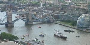 Farage And Geldof In Bizarre Thames Flotilla Face-Off