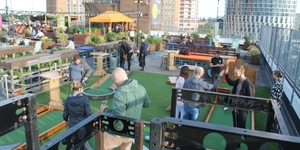 First Look: Rooftop Golf In East London
