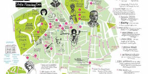 Pepys And Banksy Feature In New Stoke Newington Map