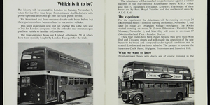 What Is London's Oldest Bus Route?