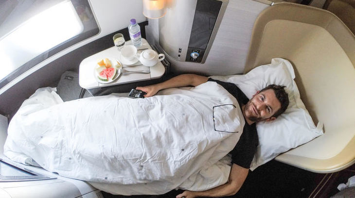 Learn How To Fly First Class For Next To Nothing