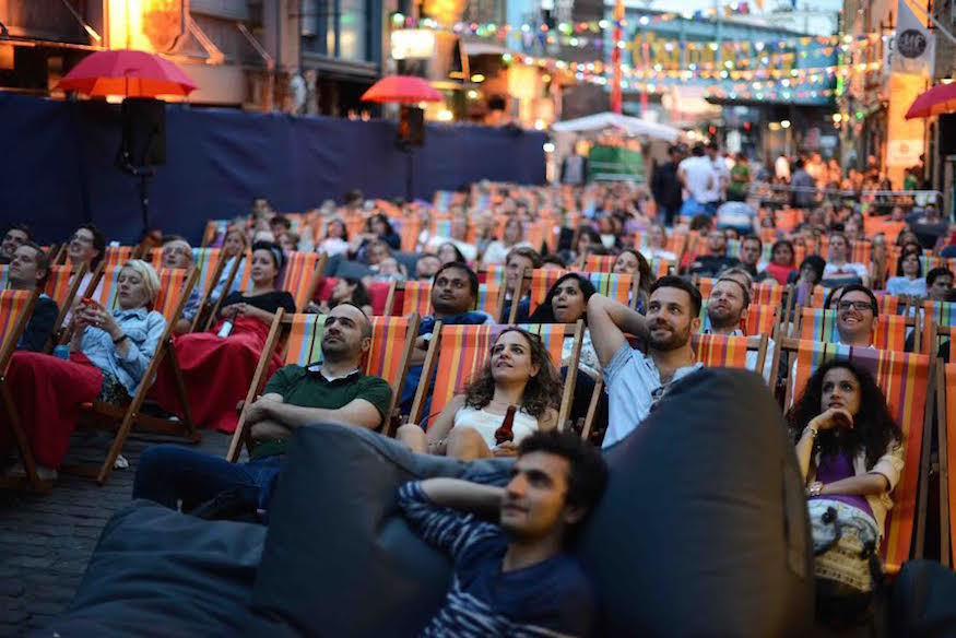 Backyard Cinema Returns To Camden Market