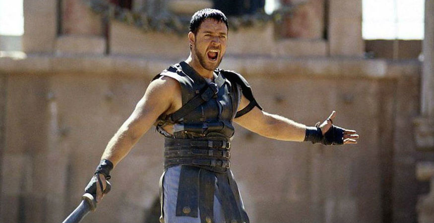 Gladiator To Be Screened In A Roman Amphitheatre