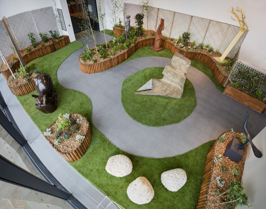 A Sculpture Garden In King's Cross