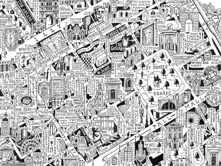 Check Out This Incredibly Detailed Map Of Mayfair