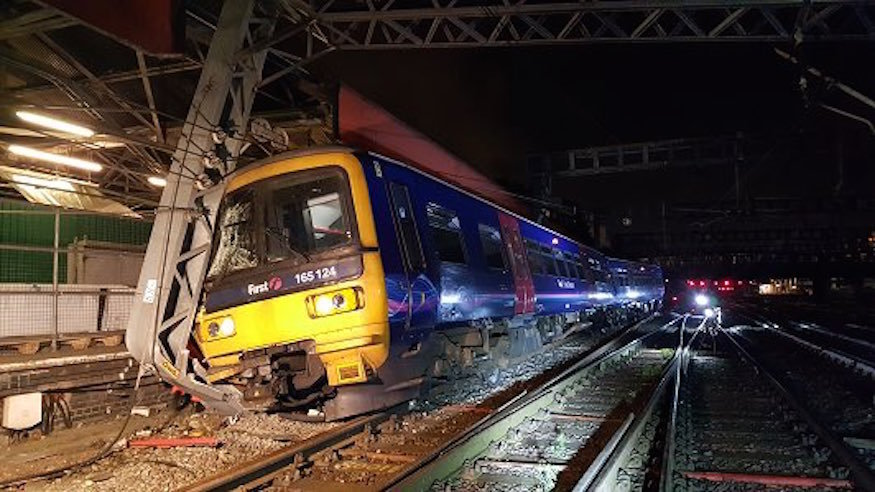 Major Disruption At Paddington Station Due To Train Derailment
