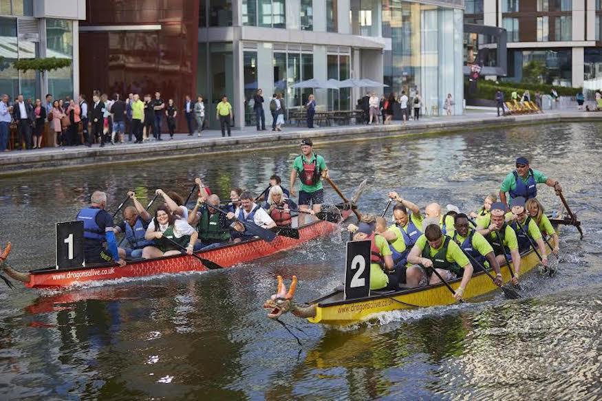 Watch dragon boats (and rubber ducks) go head to head @merchantsqevent