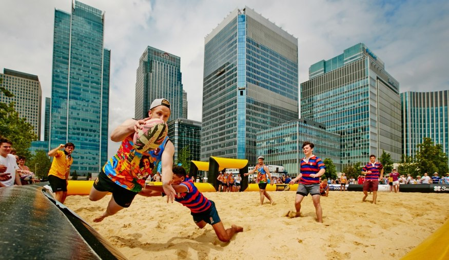 Finsbury Square To Be Covered in 240 Tons Of Sand