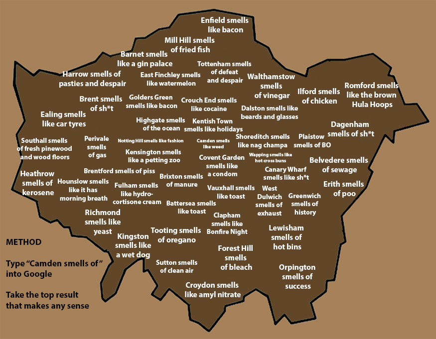 The London Smell Map