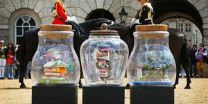 The BFG's Left Dream Jars All Over London... Can You Find Them?
