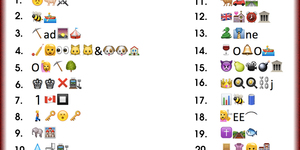 Guess The London Street Names From The Emojis