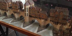 Visit This Incredible Model Of Old London Bridge