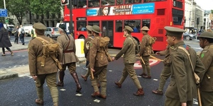London News Roundup: Somme Soldiers 'Return' To London.
