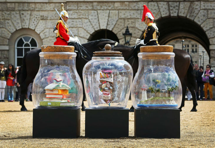 BFG-Inspired Dream Jar Art Trail Comes To London